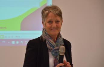 Mireille DUFOUR, maire de Trévières, représentante de la CLE Isigny-Trévières, élue membre du Bureau syndical