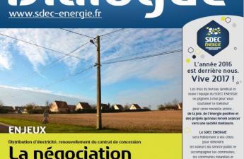Journal d'information DIALOGUE n° 65 du SDEC ENERGIE - Janvier 2017