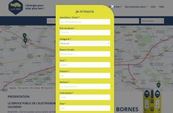 créer un compte sur www.mobisdec.fr