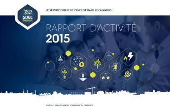 Rapport d'activité 2015 du SDEC ENERGIE