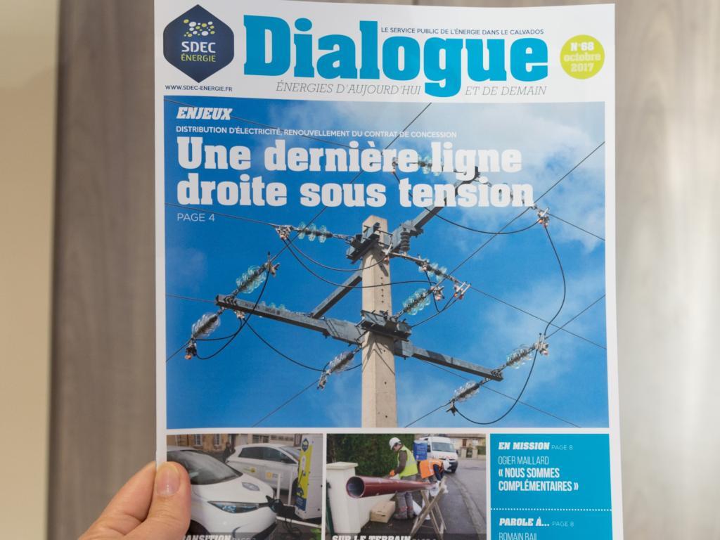 Journal d'information Dialogue n° 68 - Octobre 2017