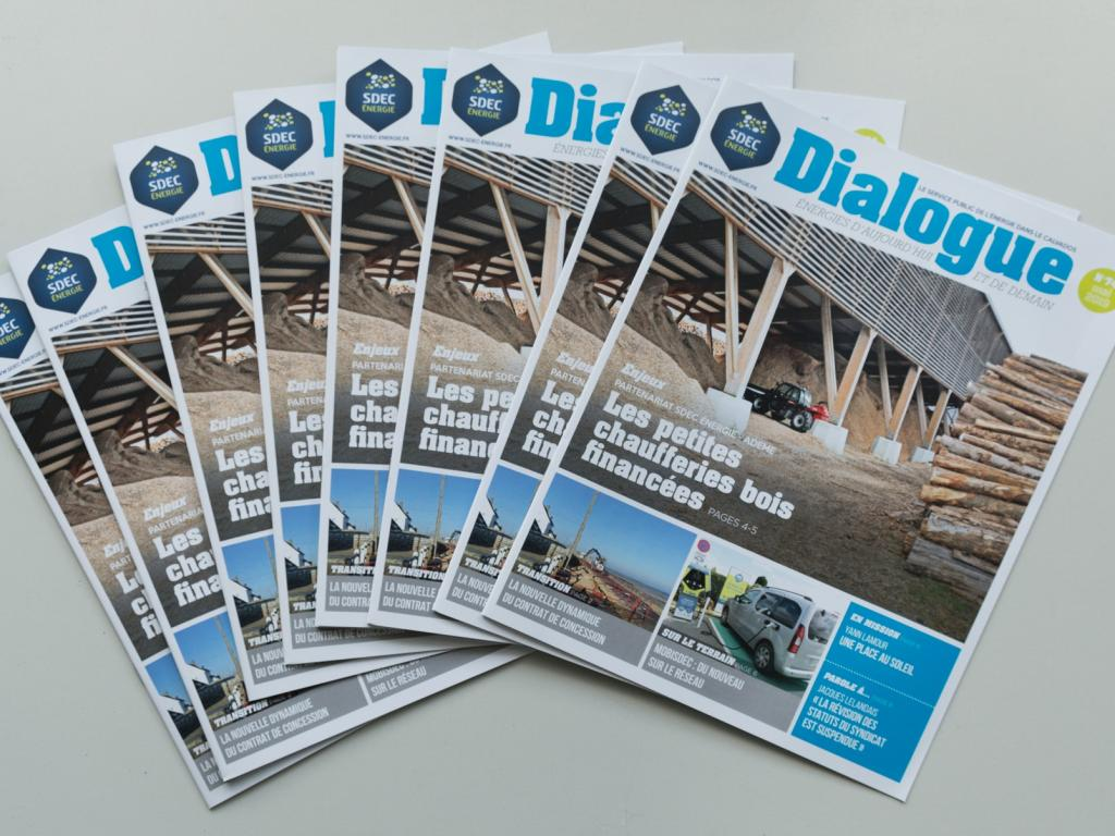 Journal d'information DIALOGUE n° 74 du SDEC ENERGIE (mai 2019)