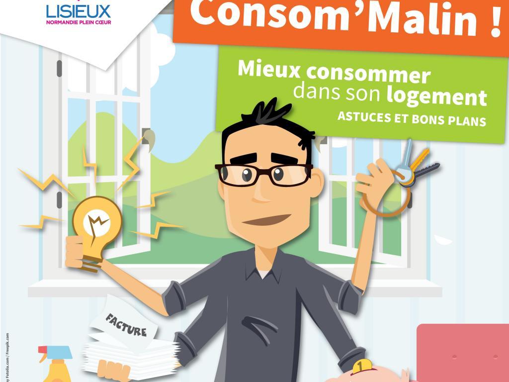 10ème édition Consom'Malin spécial logement le 16 novembre 2016 à Lisieux