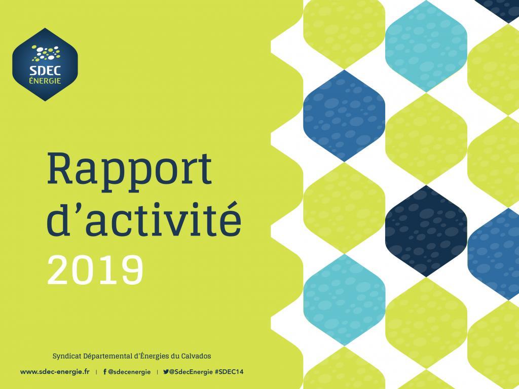 [PUBLICATION] Rapport d'activité 2019 du SDEC ENERGIE