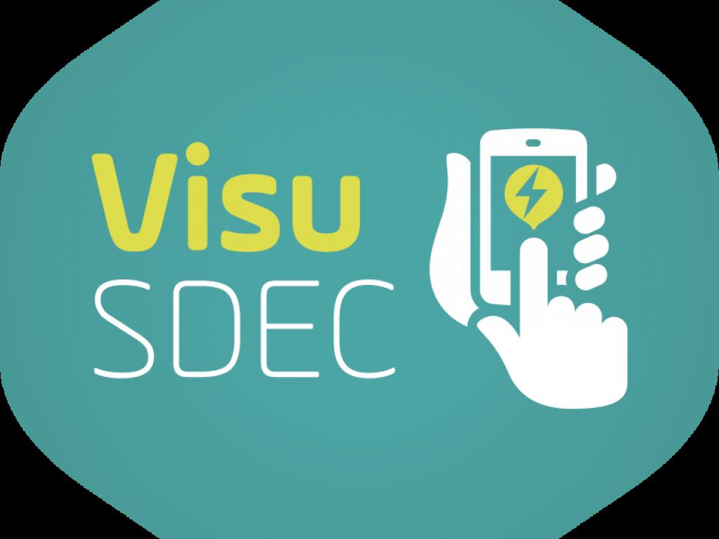 Application mobile VisuSDEC : déclaration pannes éclairage public, électricité et bornes