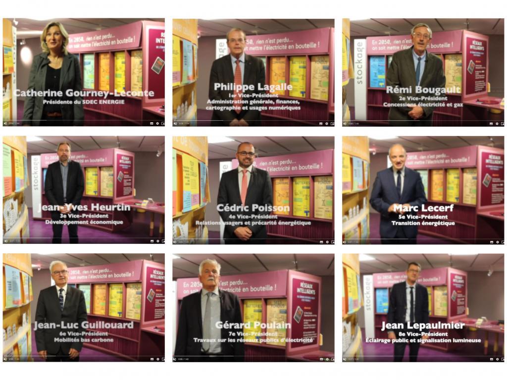 [VIDÉOS] Elections 2020 - Interviews de la Présidente et des vice-Présidents du SDEC ÉNERGIE