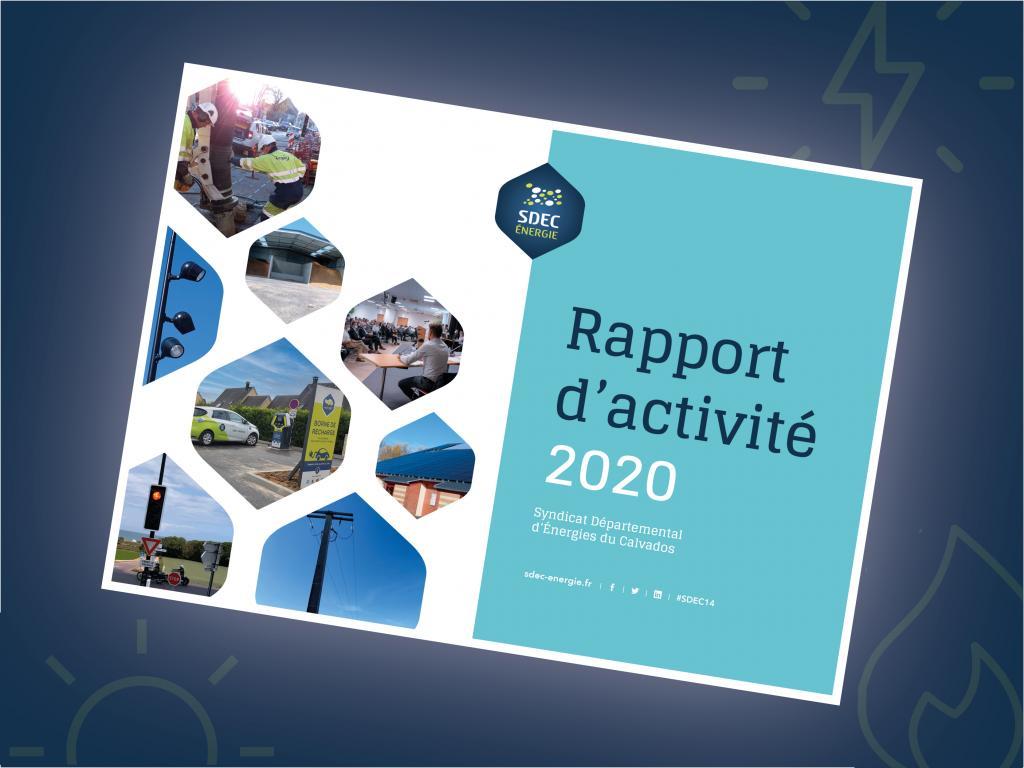 [PUBLICATIONS] Rapport d'activité 2020 du SDEC ÉNERGIE (Mai 2021)