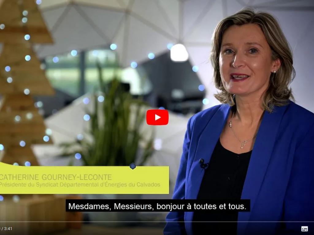 [VIDÉO] Voeux 2021 de Catherine GOURNEY-LECONTE, Présidente du SDEC ÉNERGIE