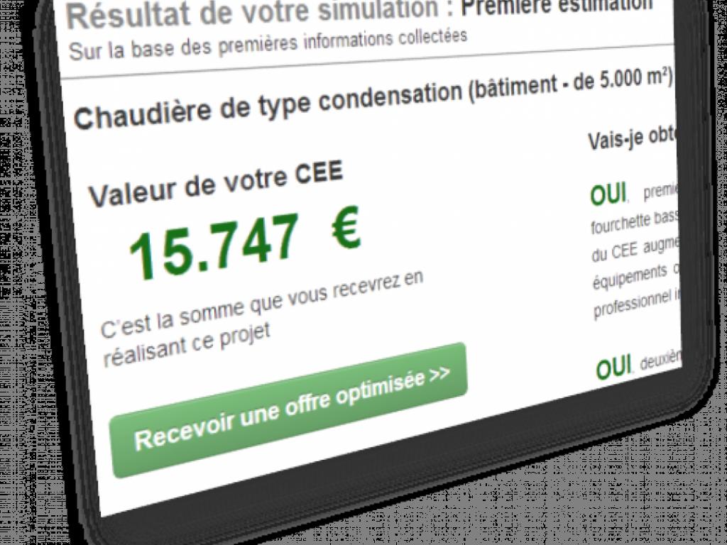 Comparateur de primes Certificats d'Economies d'Energie (CEE)