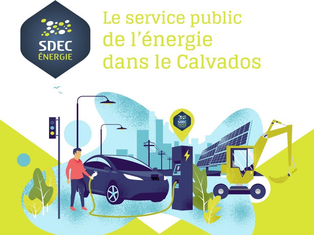 Plaquettes de présentation du SDEC ENERGIE