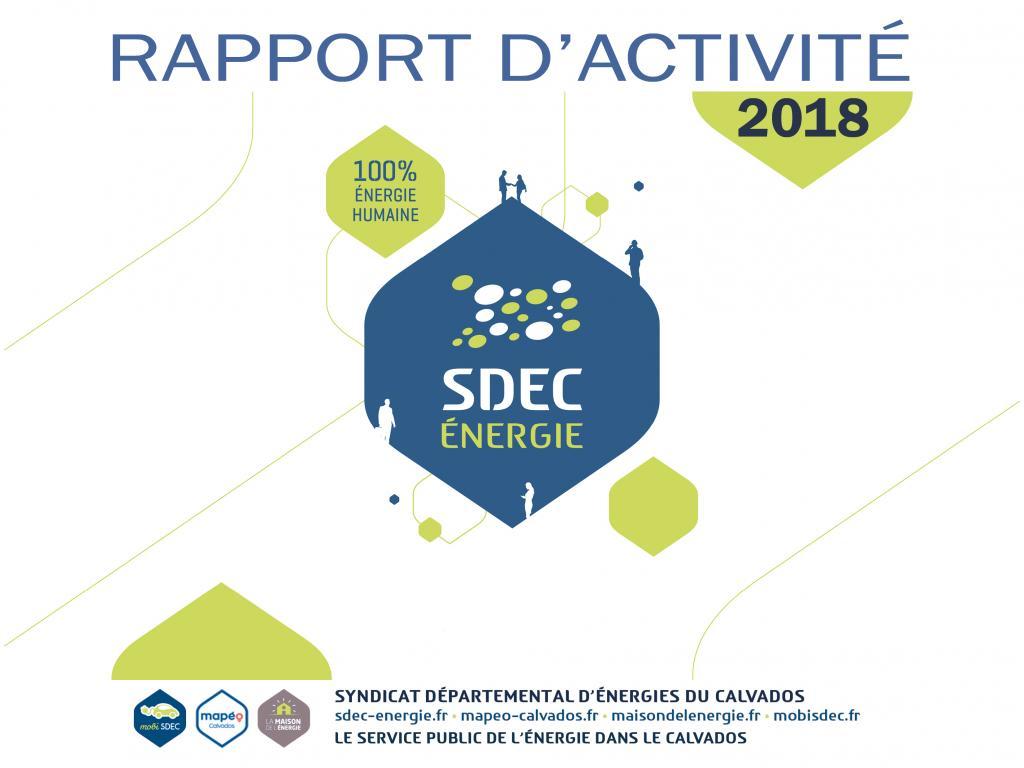 Rapport d'activité 2018 du SDEC ENERGIE