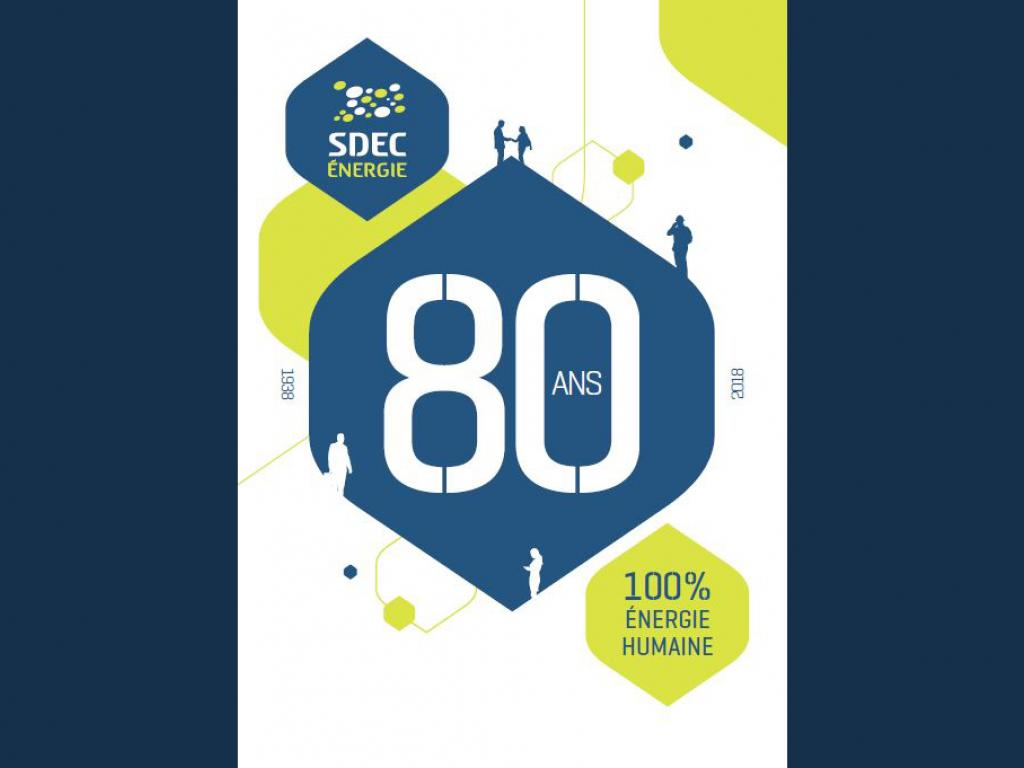 Le SDEC ENERGIE a 80 ans : 100% énergie humaine