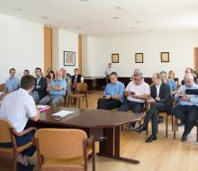 Signature de la convention pour la rénovation de l'éclairage public en 2 ans à Ouistreham Riva-Bella