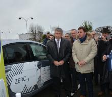 Ouistreham inaugure sa borne pour véhicules électriques MobiSDEC