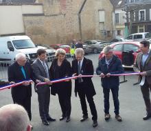 Saint-Pierre-sur-Dives inaugure sa borne pour véhicules électriques MobiSDEC