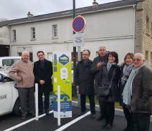 Bretteville-sur-Laize inaugure sa borne pour véhicules électriques MobiSDEC
