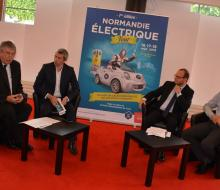 13 juin 2016 - Conférence de presse du Normandie Electrique Tour