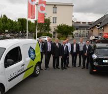 13 juin 2016 - Conférence de presse du Normandie Electrique Tour avec les partenaires présents