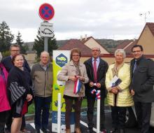 . Coquainvilliers : inauguration de la borne MobiSDEC rue du Manoir de Prie le 27 octobre 2016