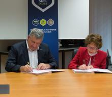 Opération Abeill'Aire : signature de la convention le mardi 26 septembre 2017