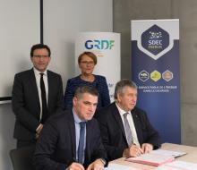 Transition énergétique :  Signature d'une convention de partenariat avec GRDF le mercredi 13 décembre 2017
