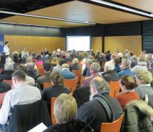 Groupement d'achat : Une centaine de participants à la 1ère réunion de bilan des marchés de fourniture d'énergies gaz et électricité