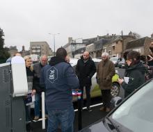 [MOBILITE DURABLE] Inauguration de la borne de recharge rapide MobiSDEC à Vire Normandie le 8 février