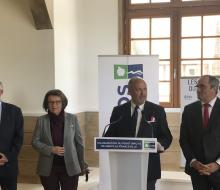 18 mai 2018 - Inauguration du Point Info 14 à Merville-Franceville