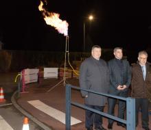 [RESEAU GAZ] Arrivée du gaz naturel en réseau à Baron-sur-Odon : cérémonie de la flame le 28 novembre 2018