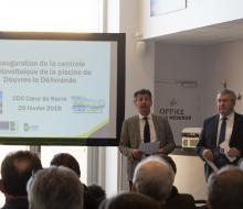 [ENR] Inauguration de la centrale photovoltaïque de la piscine de Douvres-la-Délivrande le lundi 25 février 2019