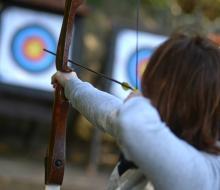 Clécy : épreuve de tir à l'arc