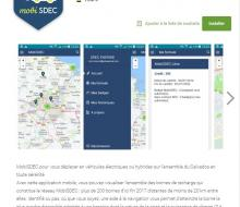 Application androïd MobiSDEC