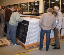 Adhérents au CEP - Visite d'une usine de panneaux solaires photovoltaïques dans l'Orne