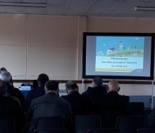 Les élus réunis en Commission Locale d'Energie (CLE)