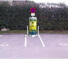 Borne MobiSDEC à Blangy-le-Château - Parking de la Mairie