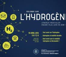 Colloque organisé par le SDEC ENERGIE : l'hydrogène pour aller encore plus loin en 2018 le 10 avril 2018 à Caen