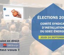 Comité syndical : élections du Bureau (Président, vice-Présidents et membres) jeudi 24 septembre 2020 à 14h à la CCI de Caen