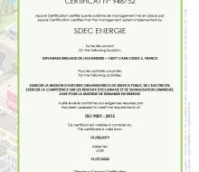Politique Qualité du SDEC ÉNERGIE