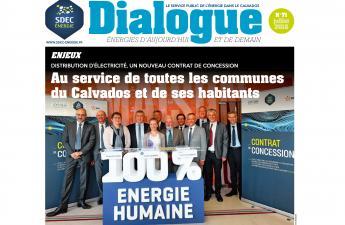 Journal d'information DIALOGUE n° 71 du SDEC ENERGIE (juillet 2018)