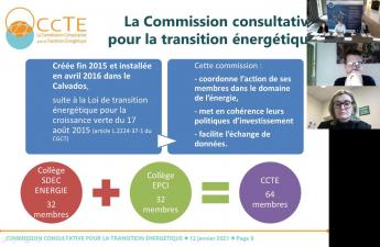 Commission Consultative pour la Transition Énergétique : plénière d'installation du 12 janvier 2021
