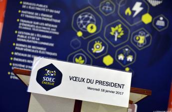Voeux du Président aux élus et partenaires - 18 janvier 2017