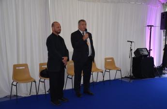 Inauguration du Normandie Electrique Tour