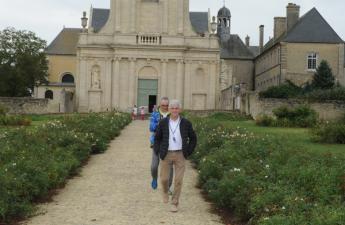 A l'Abbaye de Juaye-Mondaye