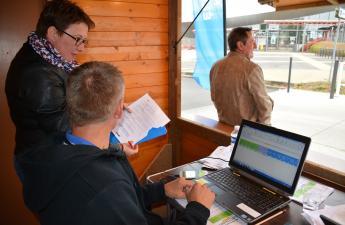 Enregistrement des retours au Village de l'électromobilité